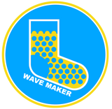 Wave Maker Badge