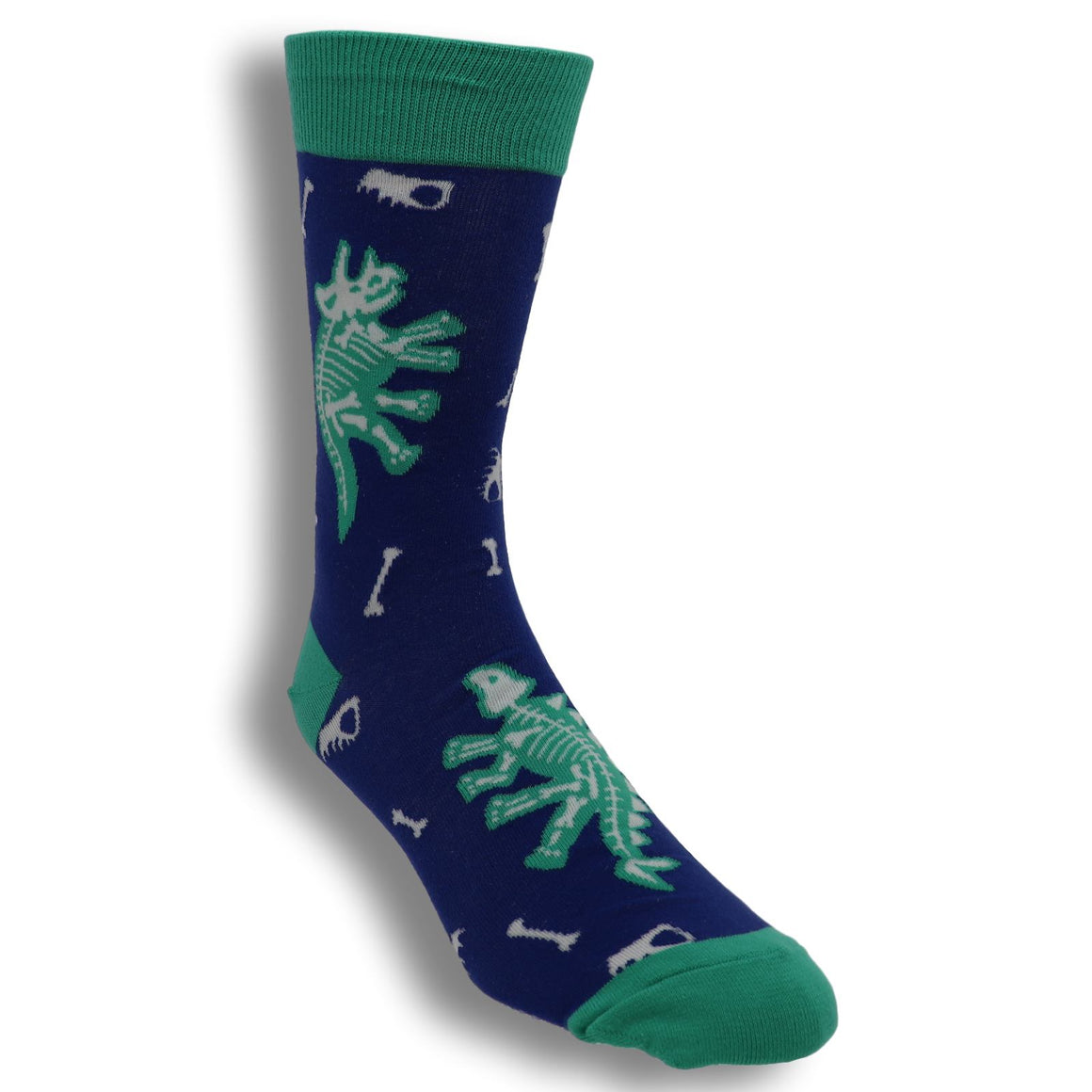 Arch-eolgoy Glow in the Dark Dinosaur Socks by Sock it to Me - The Sock Spot