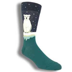 Arctic Polar Bear Socks by Foot Traffic - The Sock Spot
