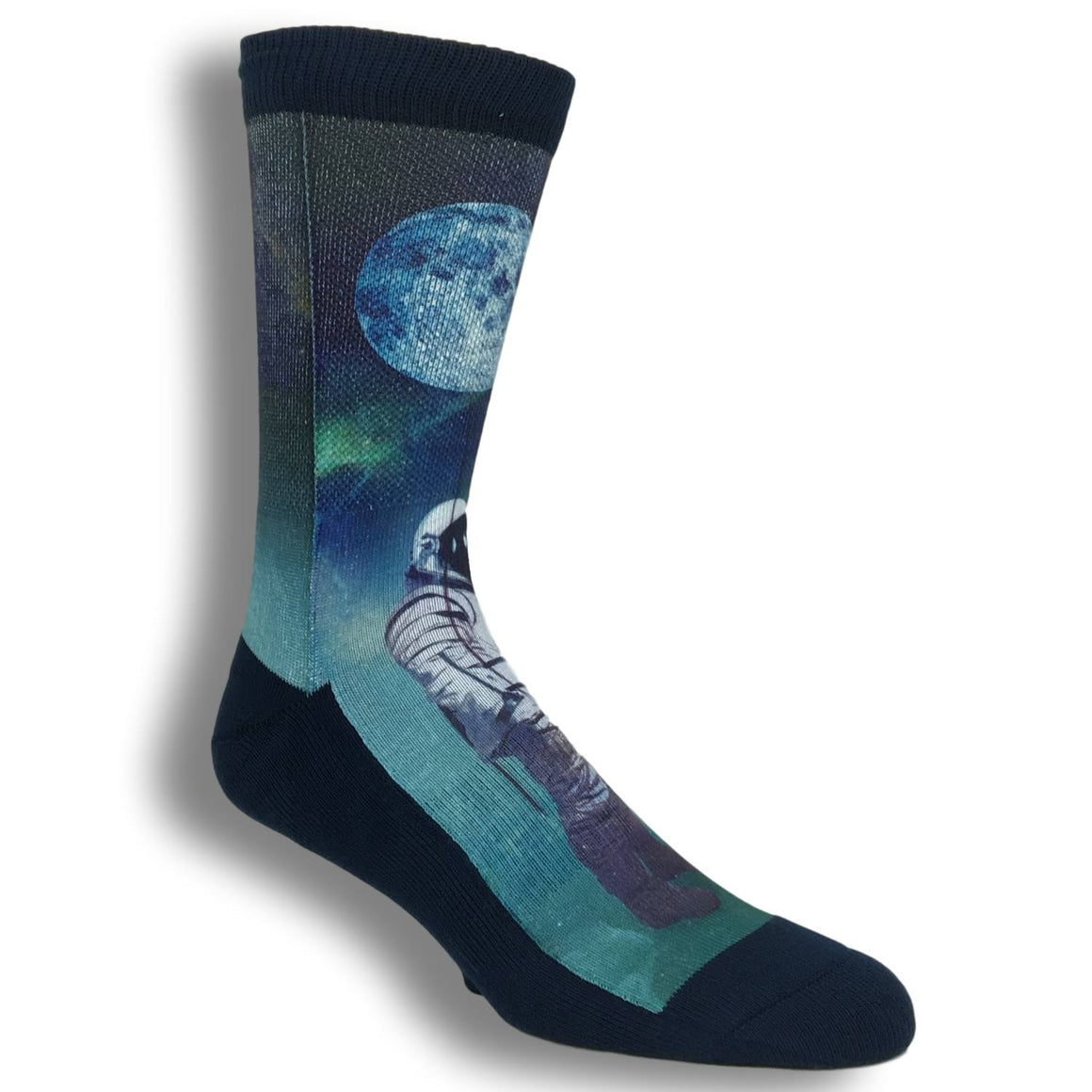 Astronaut with Balloon Printed Socks by Good Luck Sock - The Sock Spot