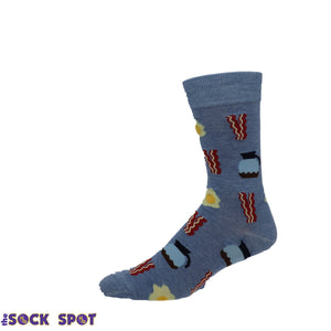 Bacon and Egg Socks by Good Luck Sock - The Sock Spot