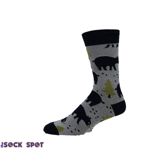 Bears in the Forest Socks by Good Luck Sock - The Sock Spot