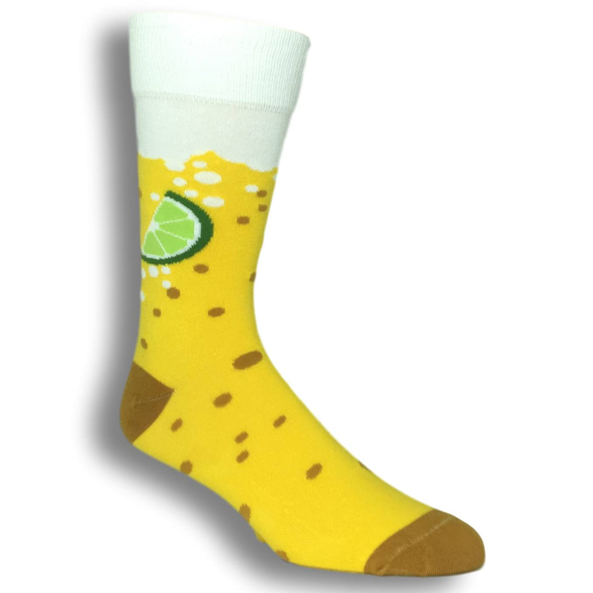 Beer and Lime Socks by Funatic - The Sock Spot