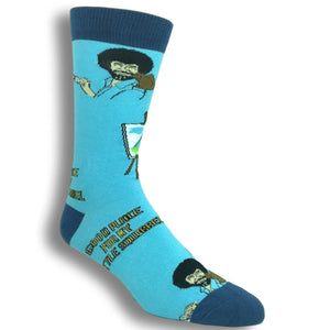 Bob Ross Squirrel Socks by Oooh Yeah Socks - The Sock Spot