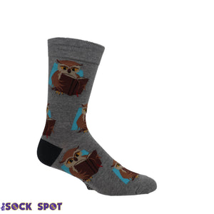 Book Owl Socks by Good Luck Sock - The Sock Spot