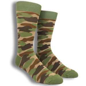 Camouflage Socks by Foot Traffic - The Sock Spot