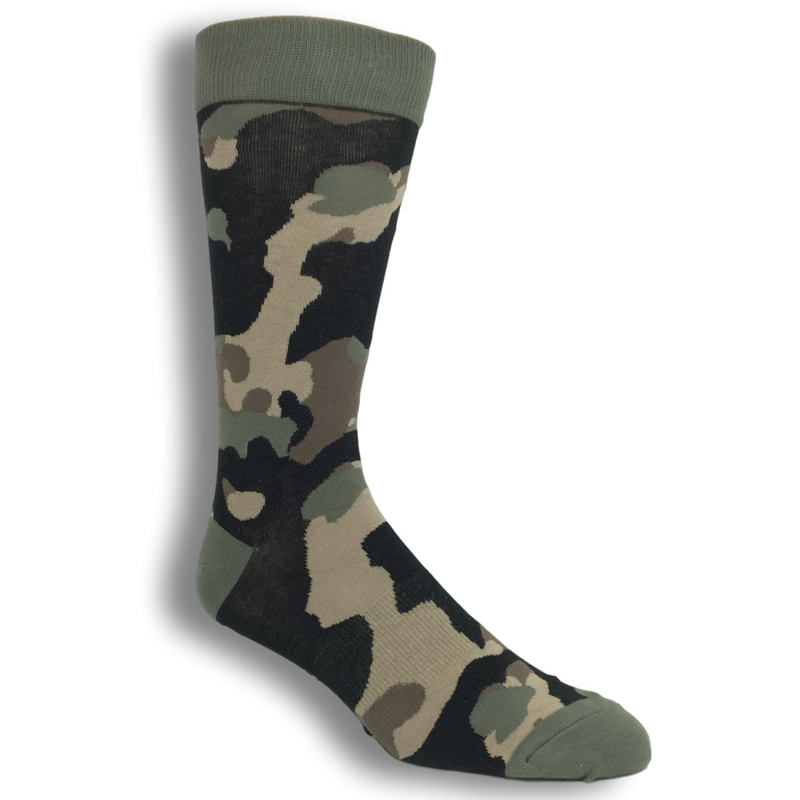 Camouflage Socks by K.Bell - The Sock Spot