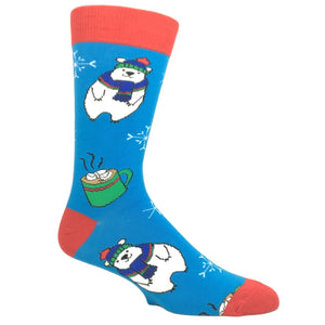 Chill Bear Christmas Socks by Oooh Yeah Socks - The Sock Spot