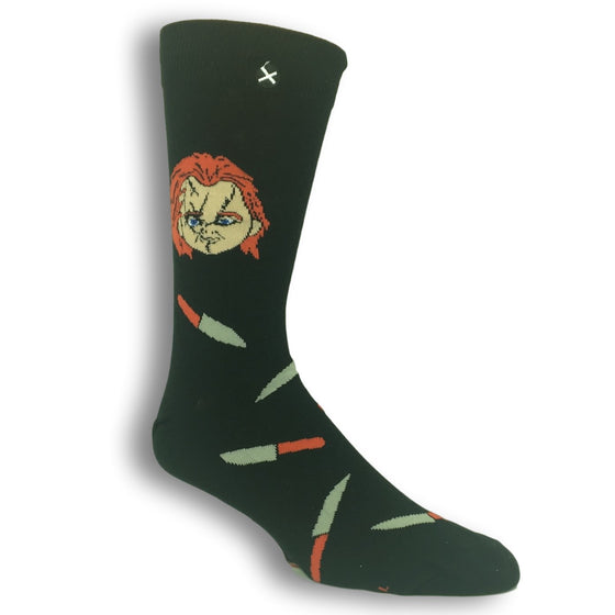 Chucky Horror Socks by Odd Sox - The Sock Spot