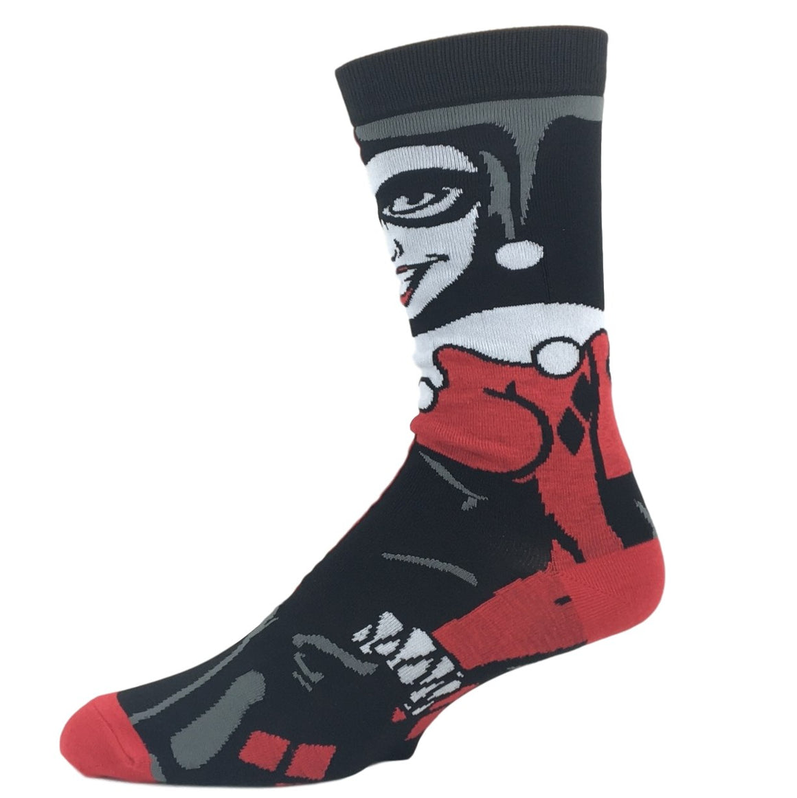 DC Comics Harley Quinn 360 Superhero Socks - The Sock Spot
