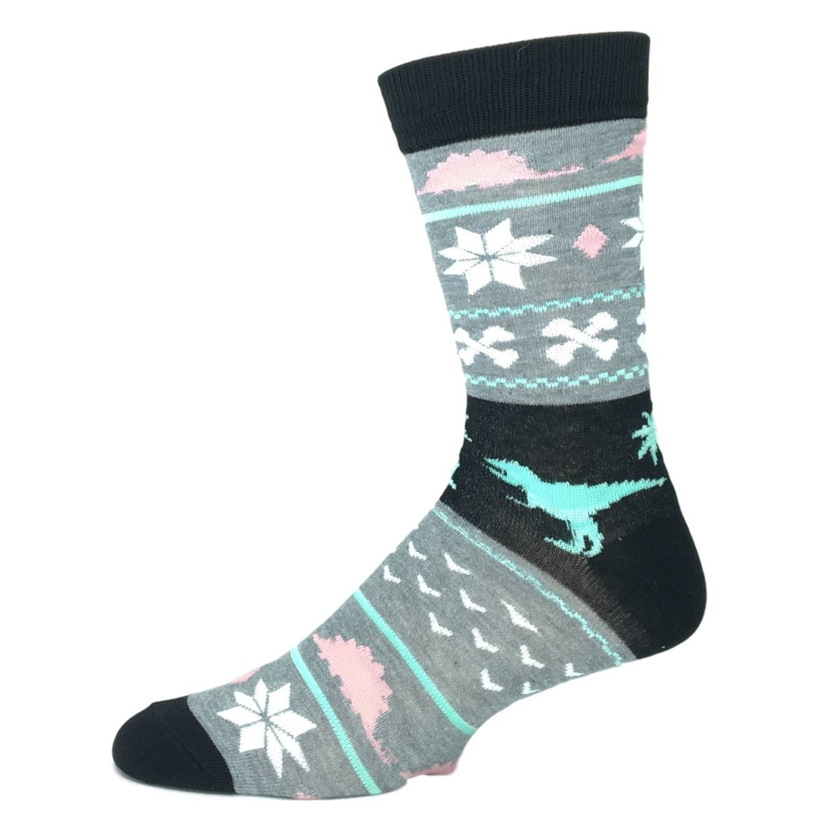 Dinosaur Christmas Socks - The Sock Spot