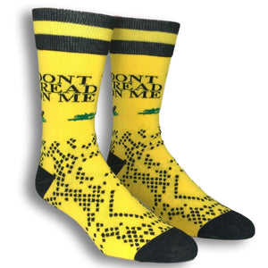 Don't Tread on Me Socks by Funatic - The Sock Spot