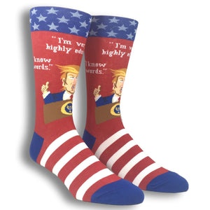Donald Trump Words Socks by Foot Traffic - The Sock Spot