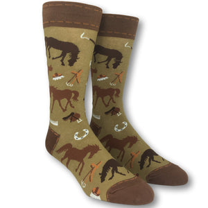 Equine Horse Socks by Foot Traffic - The Sock Spot