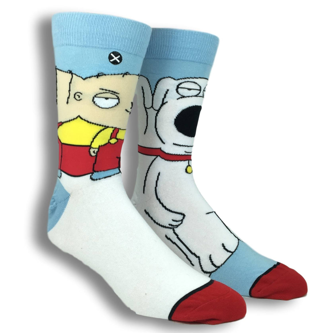 Family Guy Brian and Stewie 360 Socks - The Sock Spot