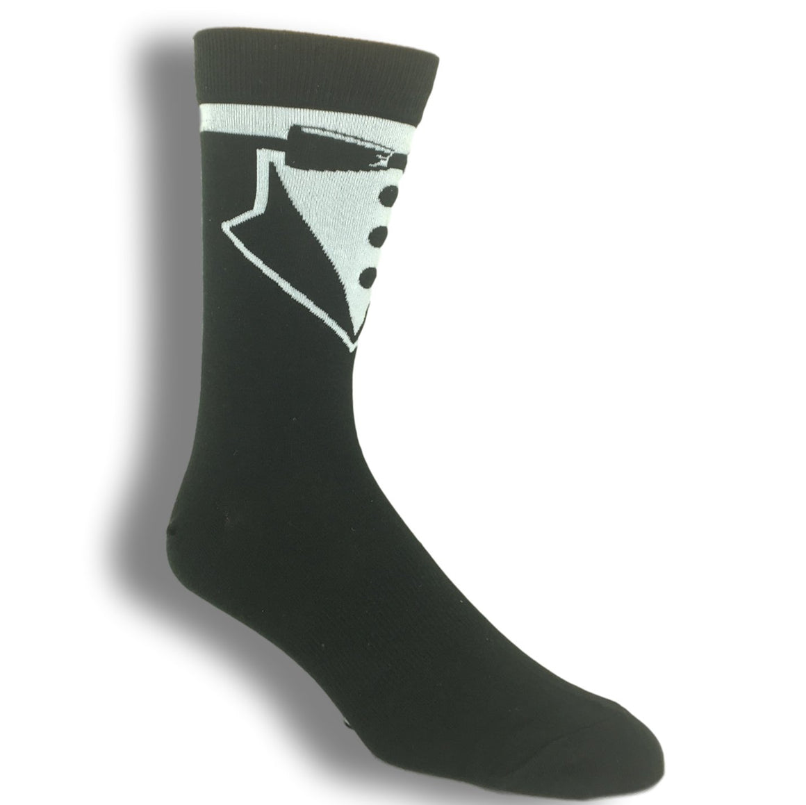 Fancy Tuxedo Socks by K.Bell - The Sock Spot