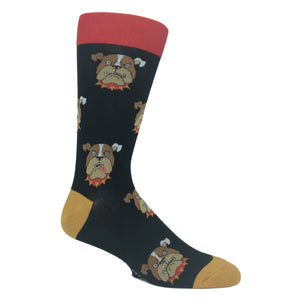 Growling Bulldog Socks by Foot Traffic - The Sock Spot