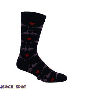 Happy You Exist Dinosaur Socks by Sock it to Me - The Sock Spot