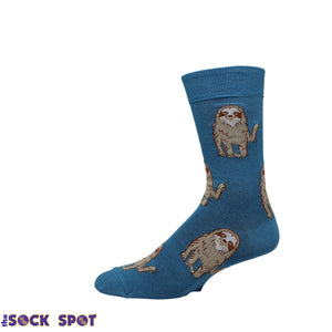 Hello Sloth Socks by Good Luck Sock - The Sock Spot