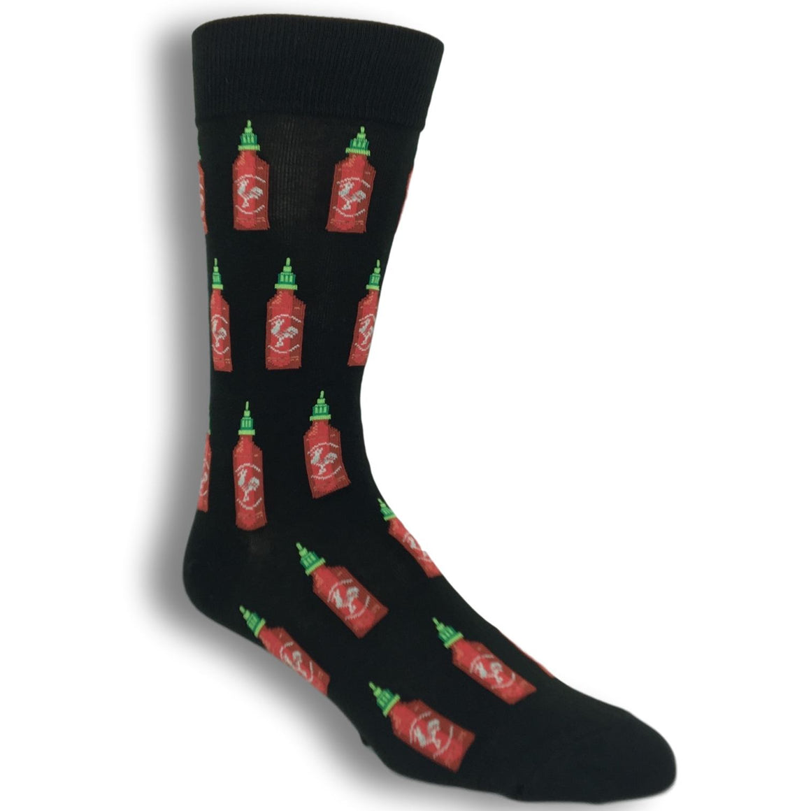 Hot Sauce Socks In Black By Hot Sox