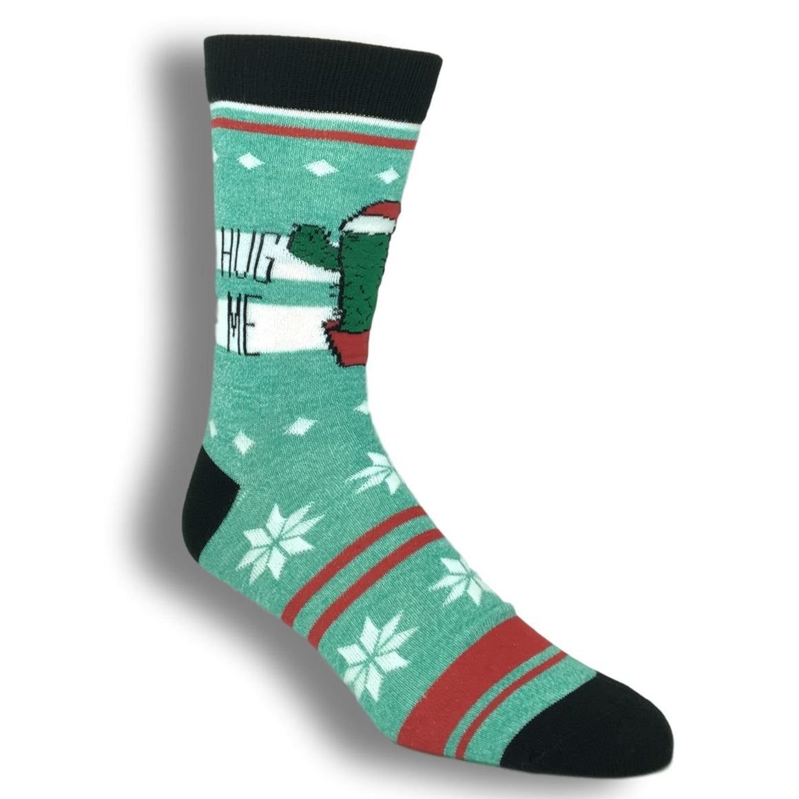 Hug Me Cactus Christmas Socks - The Sock Spot
