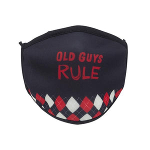 Old Guys Rule Screen Print Mask - One Size Fits Most