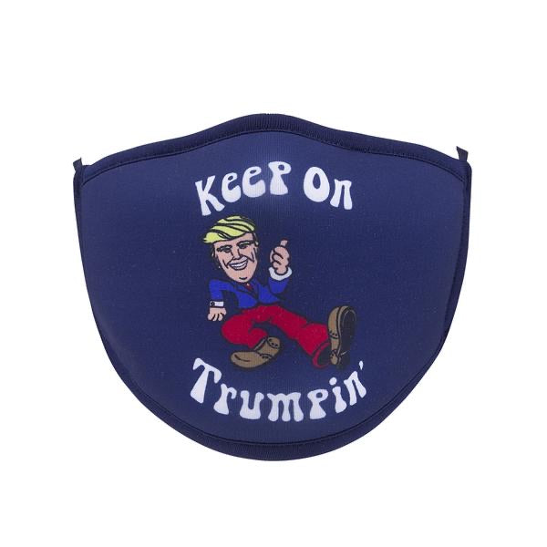 Keep on Trumpin' Screen Print Mask - One Size Fits Most
