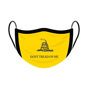 Don't Tread On Me Screen Print Mask - One Size Fits Most