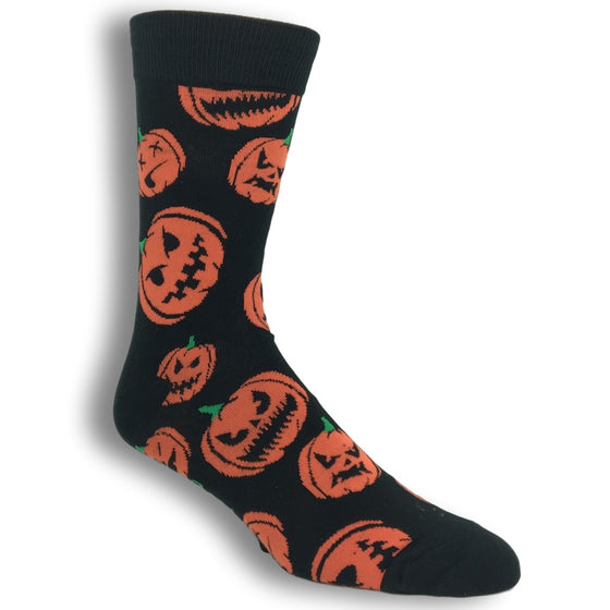 Jack O Lantern Socks By Good Luck Sock