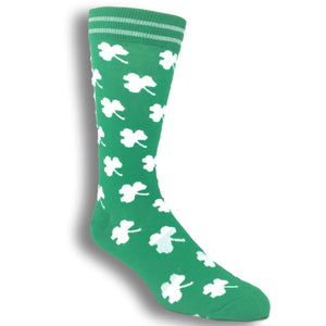 Lucky Shamrock Socks by K.Bell - The Sock Spot