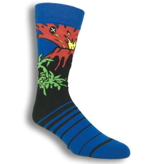 Magma Socks By Odd Sox