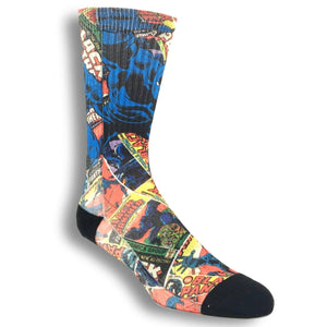 Marvel Black Panther Printed Superhero Socks - The Sock Spot