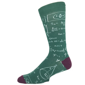 Math Equations Socks By K.Bell