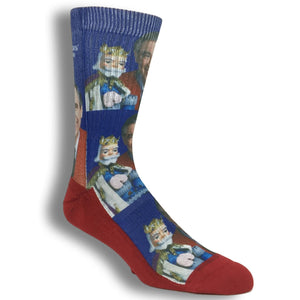 Mister Rogers Printed Socks By Good Luck Sock