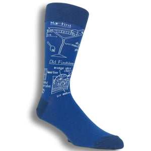 Mixology Drink Socks by Foot Traffic - The Sock Spot