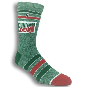 Moutain Dew Logo Socks by Odd Sox - The Sock Spot