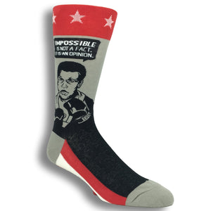 Muhammad Ali Quote Socks By Foot Traffic