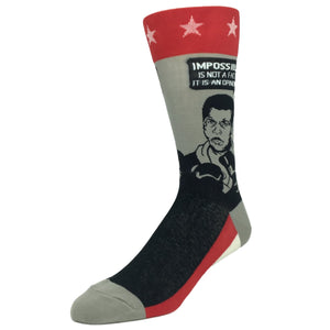Muhammad Ali Quote Socks by Foot Traffic - The Sock Spot