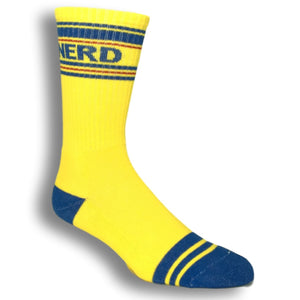 Nerd Athletic Socks Made In The USA by Gumball Poodle - The Sock Spot