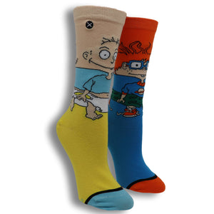 Nickelodeon Rugrats Tommy and Chuckie 360 Women's Socks by Odd Sox - The Sock Spot