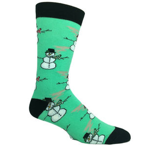 Rollin' With The Snowmies Socks By Oooh Yeah Socks