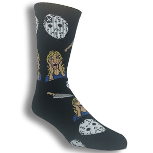 Slasher Film Socks by Odd Sox - The Sock Spot