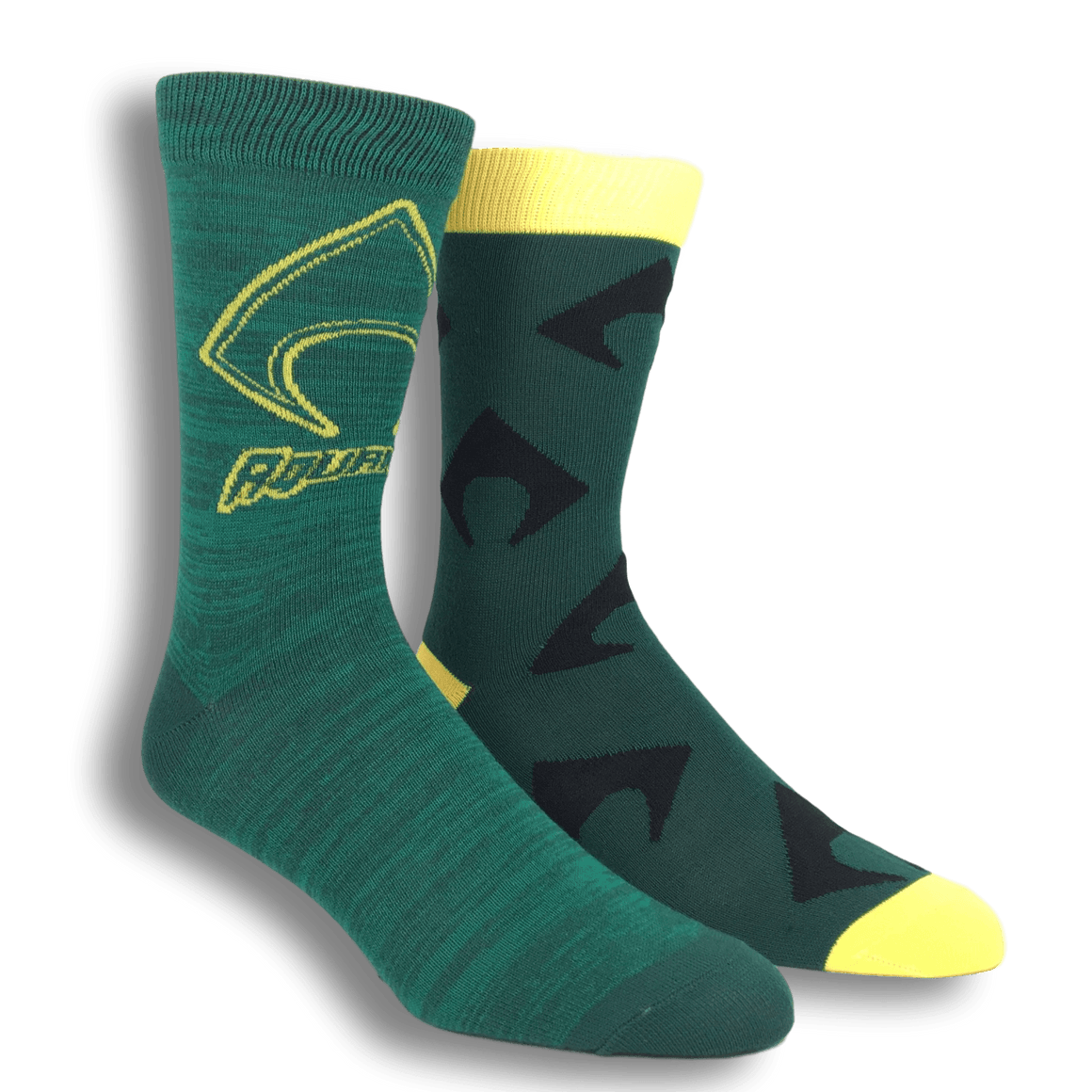 2 Pair Pack DC Comics Aquaman Superhero Socks - The Sock Spot