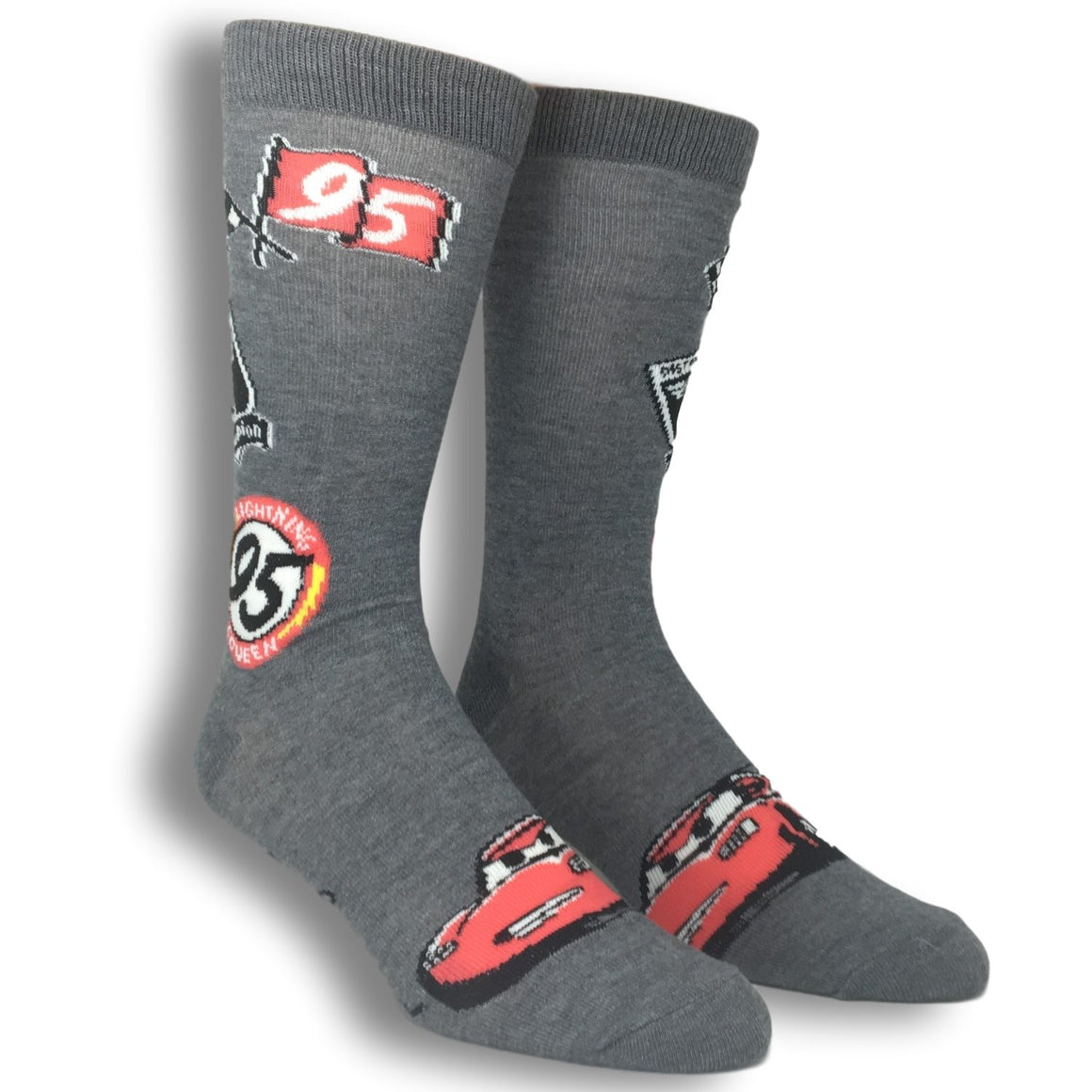2 Pair Pack Disney Pixar Cars Classic Socks - The Sock Spot