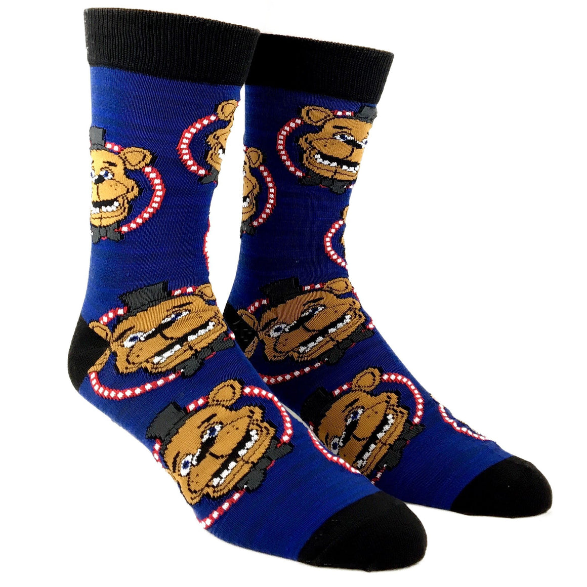 2 Pair Pack Five Nights at Freddy's Socks - The Sock Spot