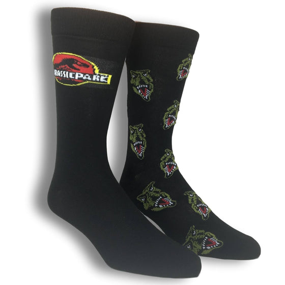 2 Pair Pack Jurassic Park Socks - The Sock Spot