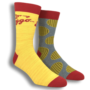 2 Pair Pack Kellogg's Eggo Waffle Socks - The Sock Spot