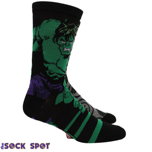 2 Pair Pack Marvel Hulk Avengers Socks - The Sock Spot