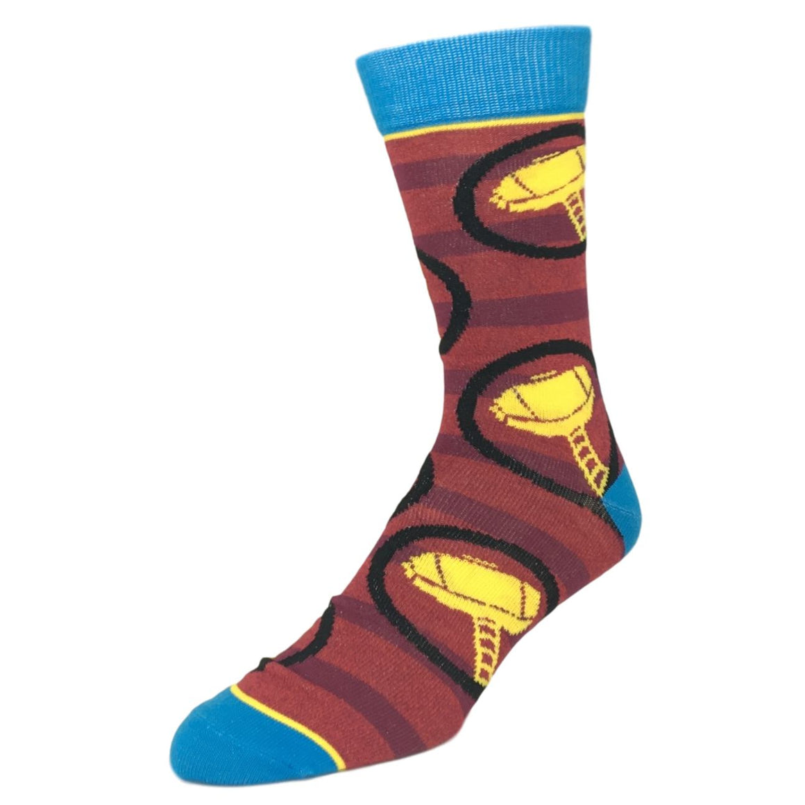 2 Pair Pack Marvel Thor Superhero Socks - The Sock Spot