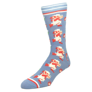2 Pair Pack Nintendo Super Mario Socks - The Sock Spot